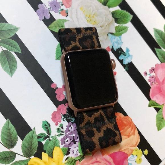 Tefeca Accessories Elastic Apple Watch Band In Leopard Print Poshmark